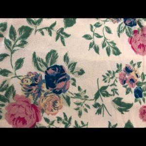LuLaRoe Pants - Flower print LuLaRoe Leggings OS